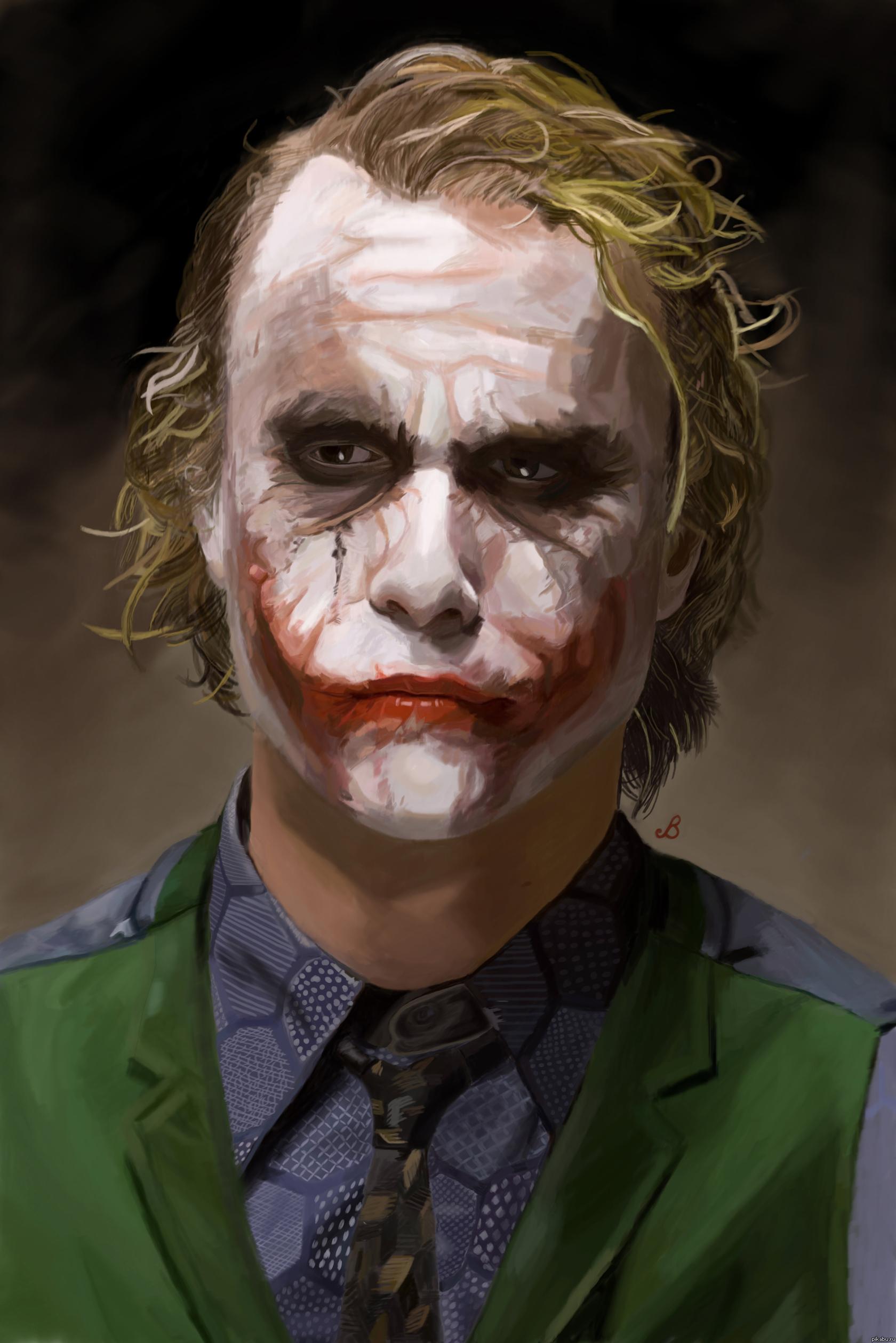Портрет Джокера Автор: Малышев Иван.