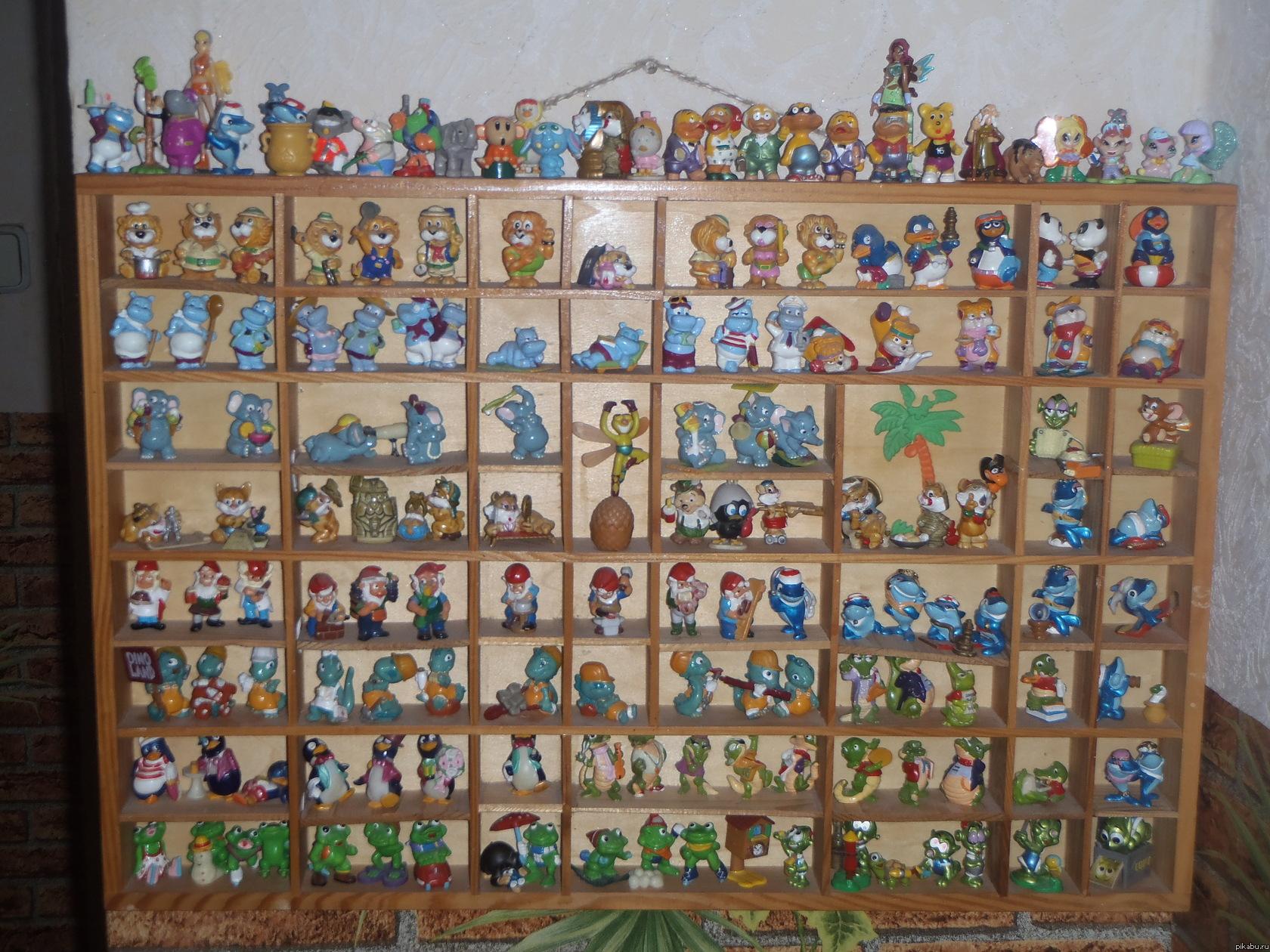 Дом для игрушек из киндера сюрприза своими руками 39