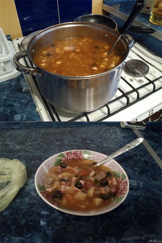 Приготовить обед быстро