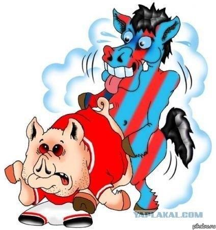 Символ спартака свинья фото