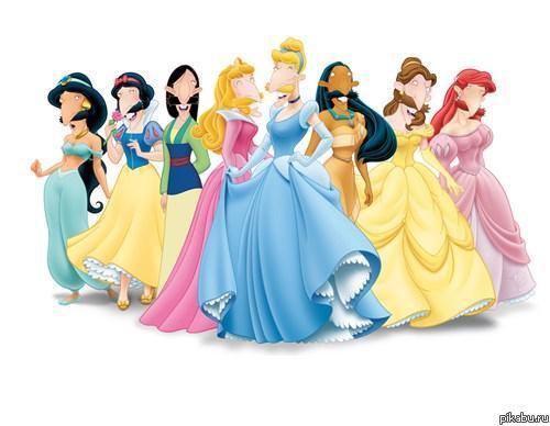 картинки принцессы для фотошопа