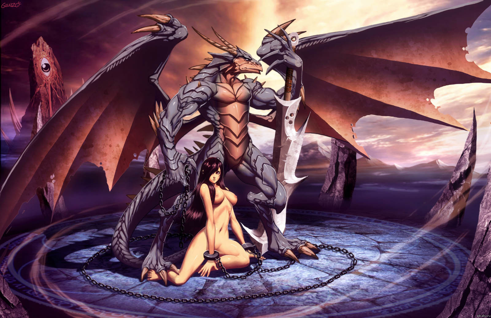 Fantasy dragon slave porn xxx picture