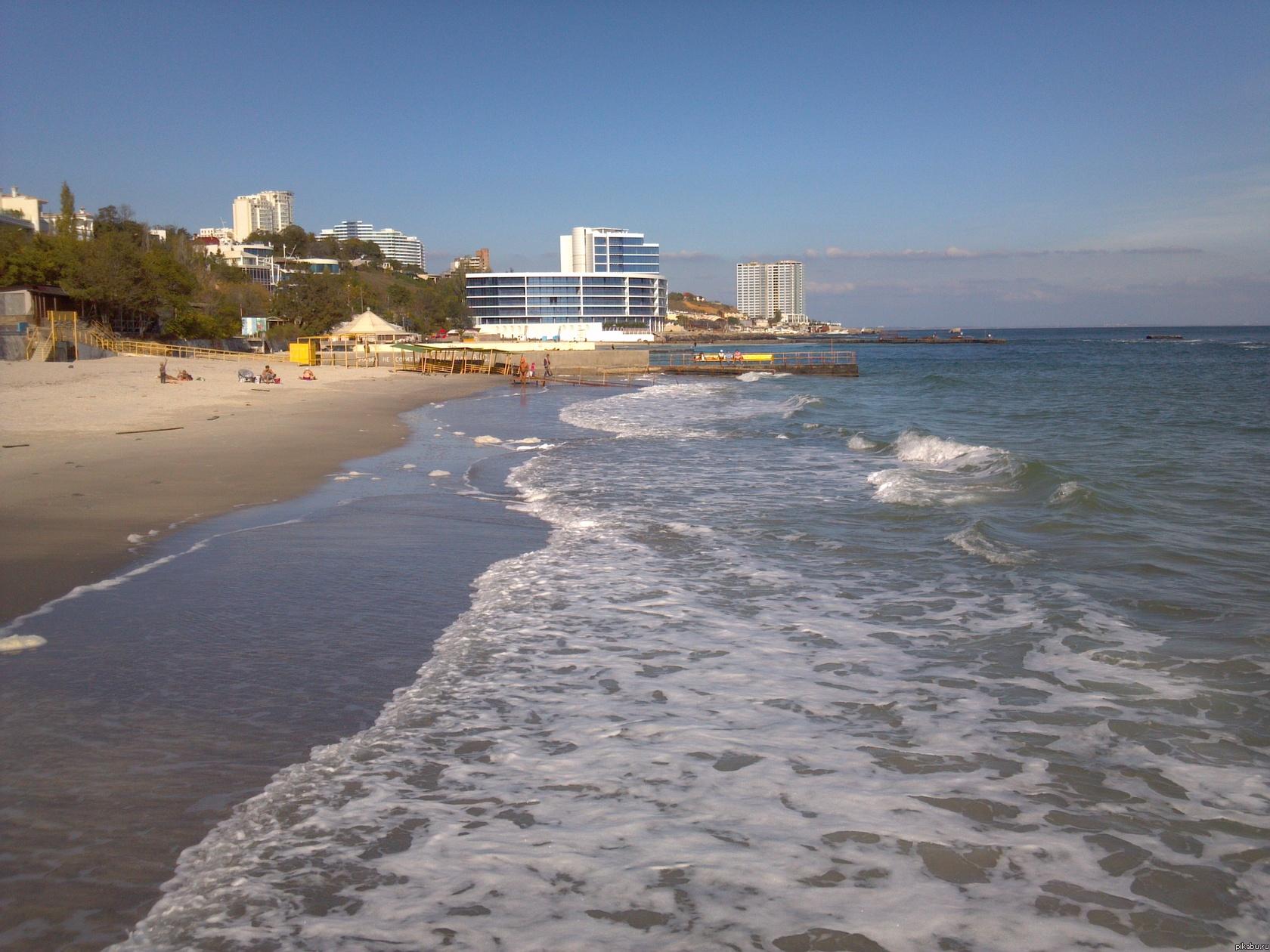 Одесса пляж на чкаловском фото