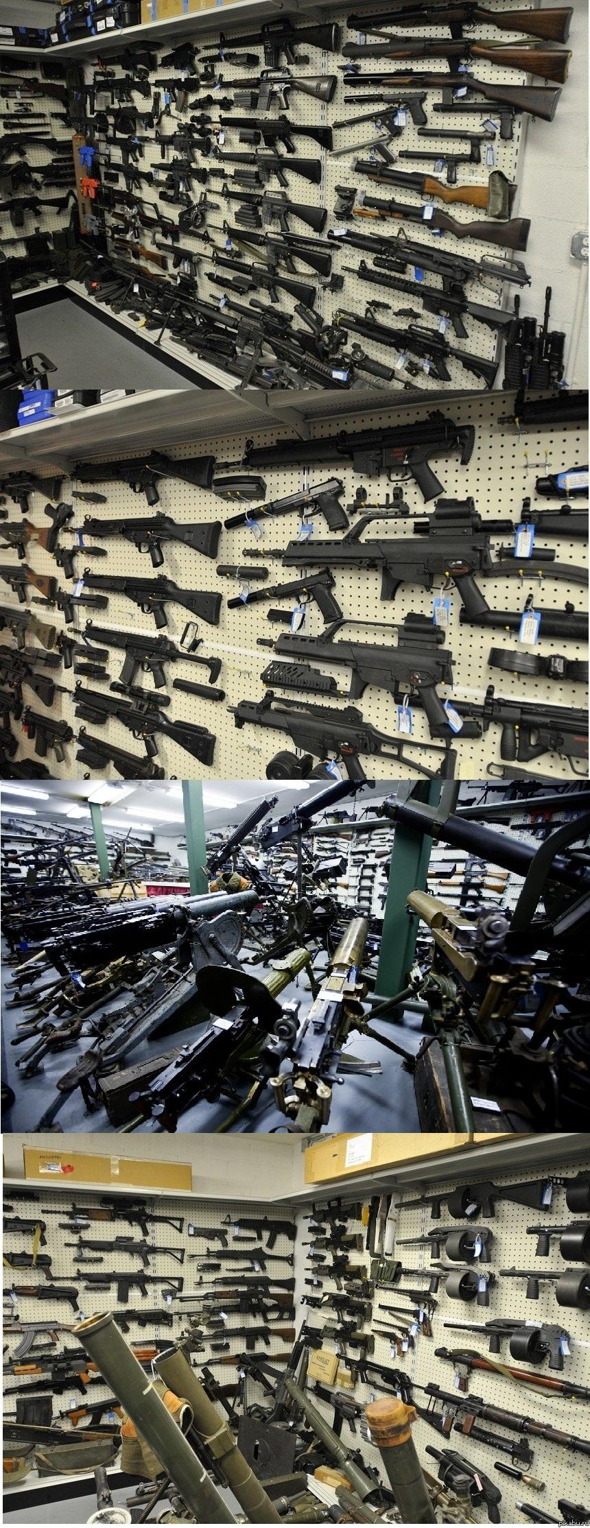 Оружейный магазин в швейцарии