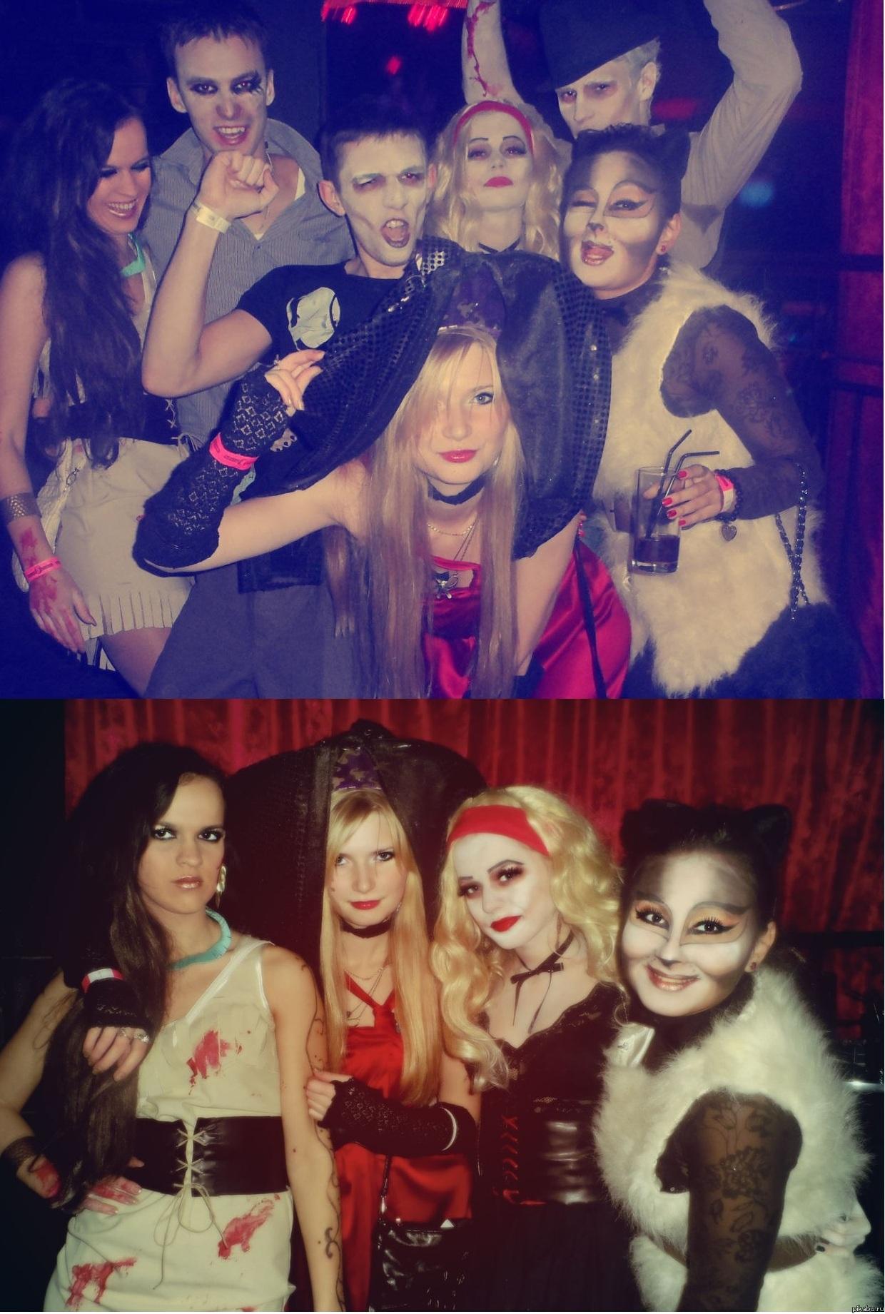 Сходили на Хэллоуин:)