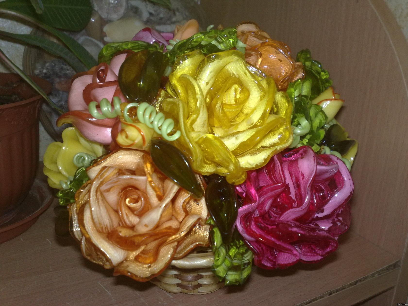 Цветы из карамели рецепт с фотографиями