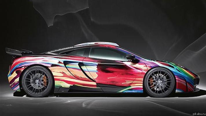 Фото автомобилей разных цветов