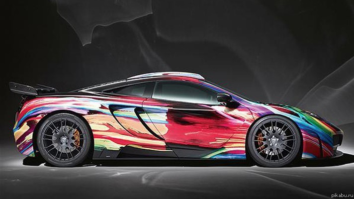Фото ярких цветов автомобилей