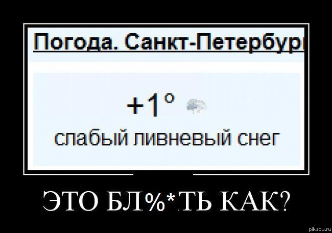 Погода в Санкт-Петербурге (погода СПб)