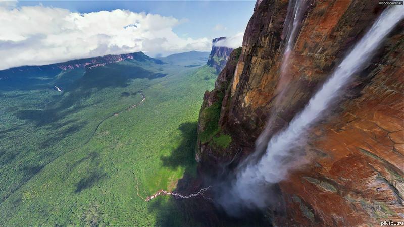фото крупнейших водопадов мира