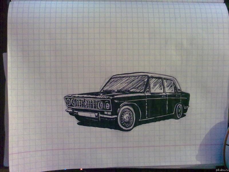 Рисунки черной гелевой ручкой для начинающих фото