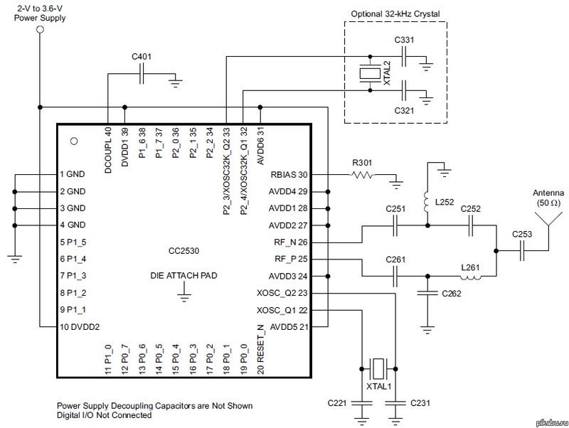 модуль от TI к atmega16